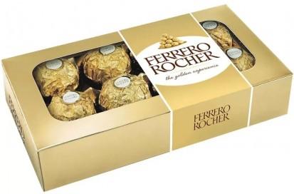 Ferrero Rocher caixa com 8 Unidades